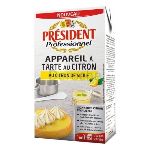 Appareil à tarte au citron de sicile