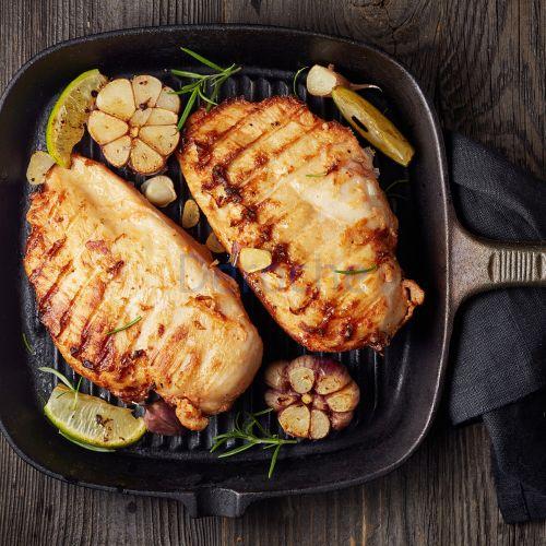 Filets de poulet rôtis sous vide