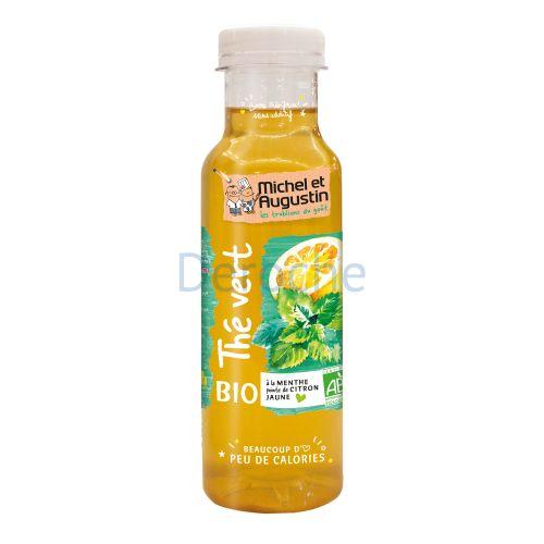 Thé vert menthe/citron bio