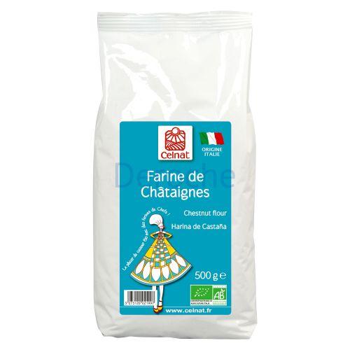 Farine de châtaigne - origine italie