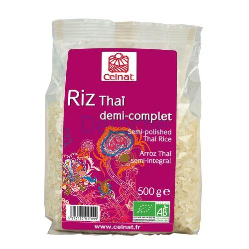 Riz thaï demi-complet bio