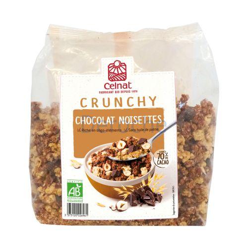Crunchy chocolat noisette bio