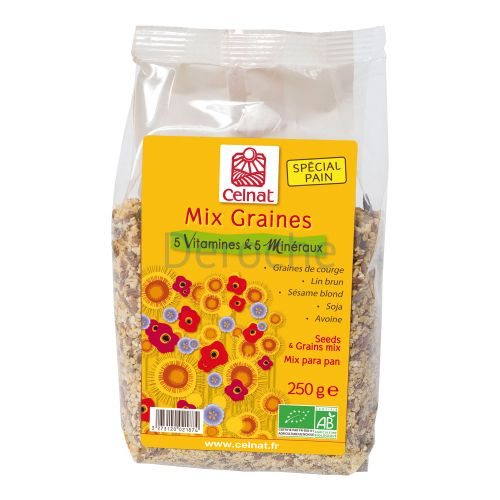 Mix graines 5 vitamines et 5 minéraux