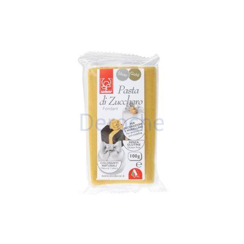 Pâte à sucre or pour modelling 100 g