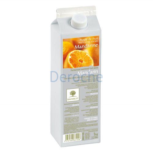 Purée de mandarine sucrée