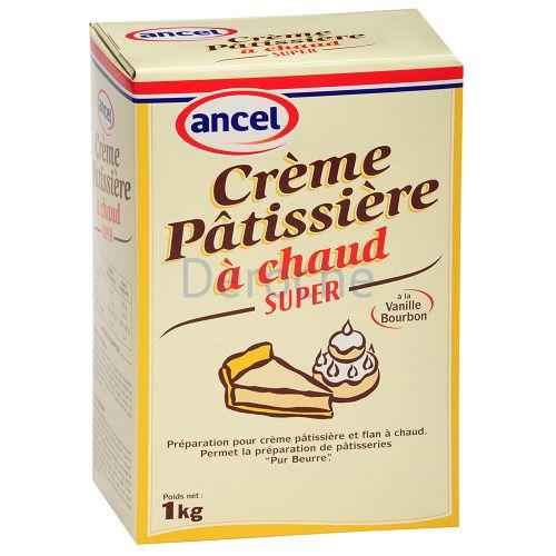 Préparation pour crème pâtissière super à chaud