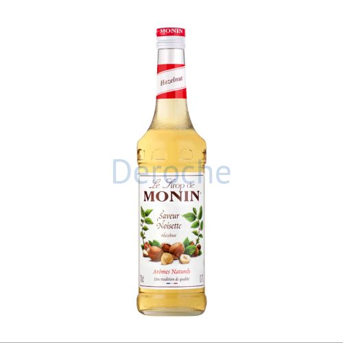 Sirop de noisette (hazelnut) (bouteille en verre)