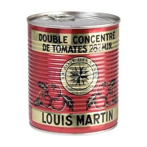 Double concentré de tomates 28%