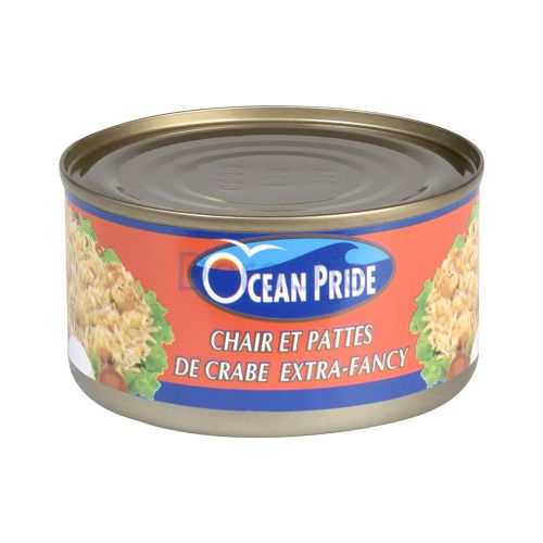 Crabes extra fancy en conserve