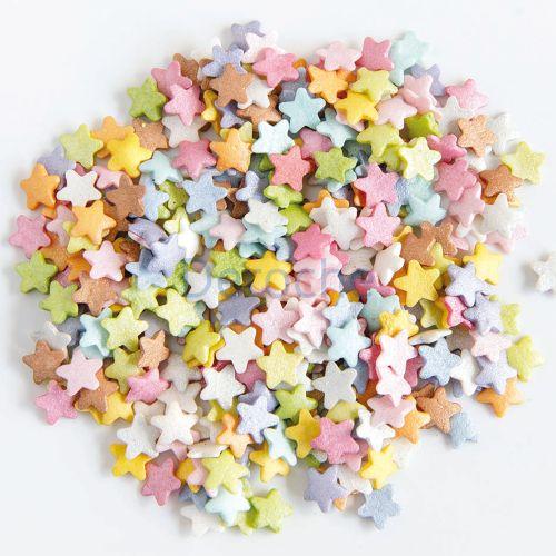 Mini etoiles multicolores - en sucre